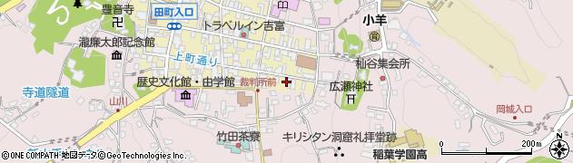 大分県竹田市竹田町11周辺の地図