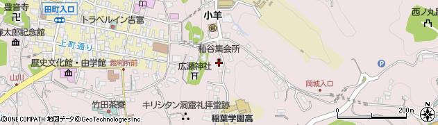 大分県竹田市竹田2563周辺の地図