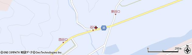 大分県佐伯市弥生大字山梨子962周辺の地図