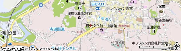 大分県竹田市竹田町428周辺の地図