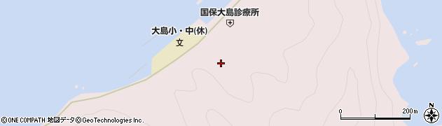 大分県佐伯市鶴見大字大島747周辺の地図