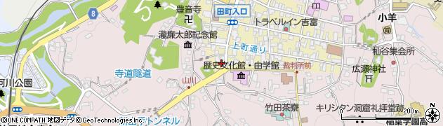 大分県竹田市竹田町427周辺の地図