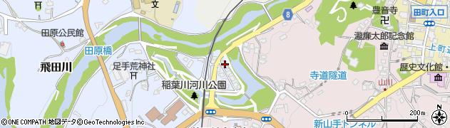 大分県竹田市飛田川1732周辺の地図