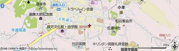 大分県竹田市竹田町16周辺の地図
