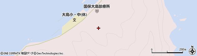 大分県佐伯市鶴見大字大島787周辺の地図