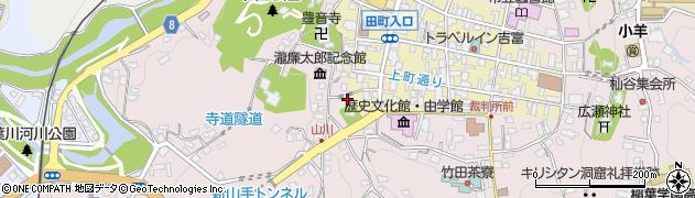大分県竹田市竹田2108周辺の地図