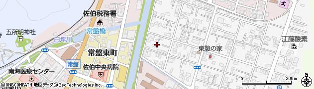 大分県佐伯市東町2周辺の地図