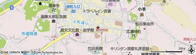 大分県竹田市竹田町28周辺の地図