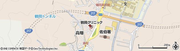 大分県佐伯市鶴望2742周辺の地図