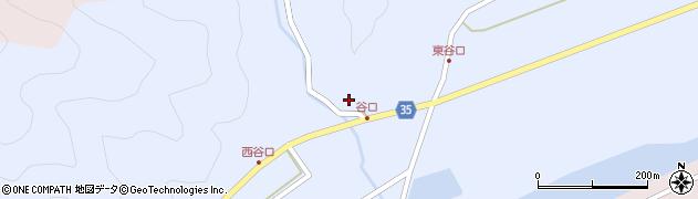 大分県佐伯市弥生大字山梨子968周辺の地図