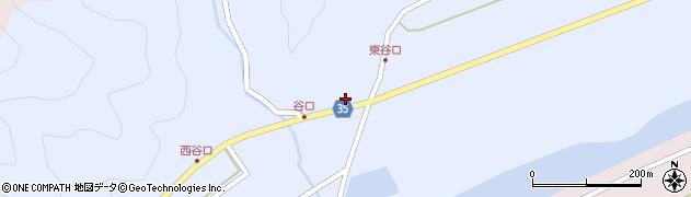 大分県佐伯市弥生大字山梨子959周辺の地図