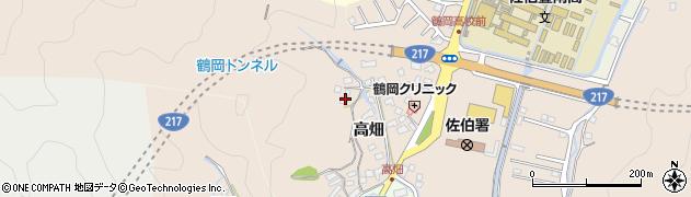 大分県佐伯市鶴望2669周辺の地図
