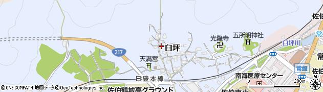 大分県佐伯市臼坪11周辺の地図