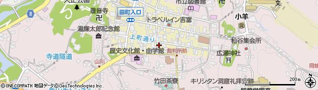 大分県竹田市竹田町35周辺の地図