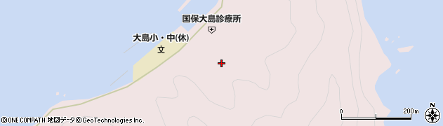 大分県佐伯市鶴見大字大島809周辺の地図