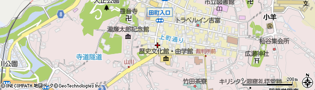 大分県竹田市竹田町402周辺の地図