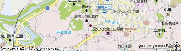 大分県竹田市竹田2106周辺の地図