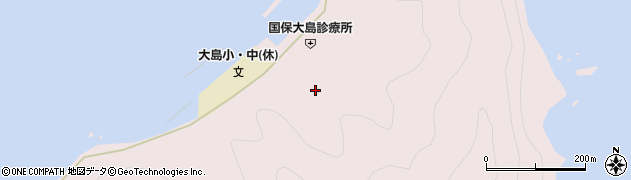 大分県佐伯市鶴見大字大島788周辺の地図
