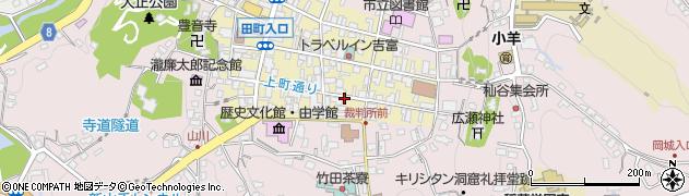 大分県竹田市竹田町30周辺の地図