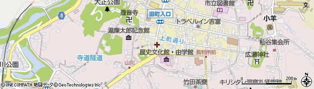 大分県竹田市竹田町325周辺の地図