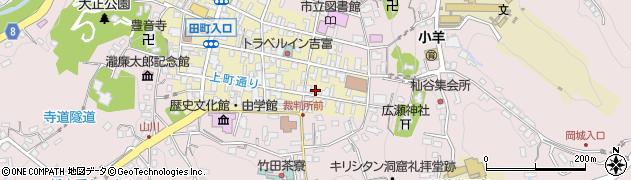 大分県竹田市竹田町81周辺の地図
