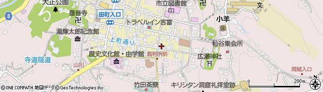 大分県竹田市竹田町80周辺の地図
