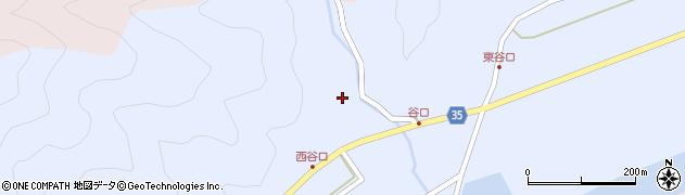 大分県佐伯市弥生大字山梨子731周辺の地図