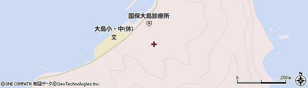 大分県佐伯市鶴見大字大島807周辺の地図