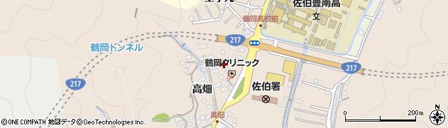 大分県佐伯市鶴望2743周辺の地図