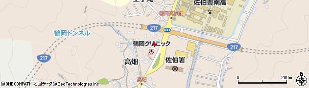 大分県佐伯市鶴望2741周辺の地図