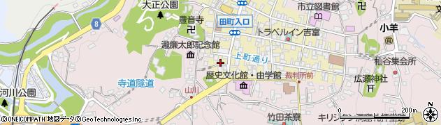 大分県竹田市竹田町440周辺の地図