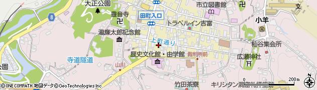 大分県竹田市竹田町45周辺の地図