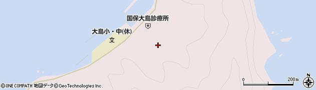 大分県佐伯市鶴見大字大島858周辺の地図