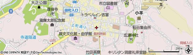 大分県竹田市竹田町68周辺の地図