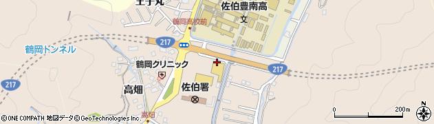 大分県佐伯市鶴望2837周辺の地図