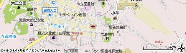 大分県竹田市竹田町97周辺の地図