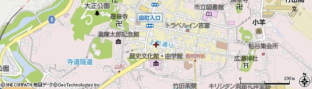 大分県竹田市竹田町395周辺の地図