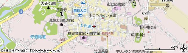 大分県竹田市竹田町58周辺の地図