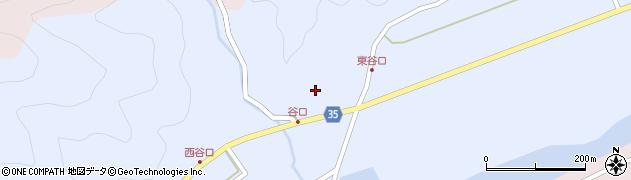 大分県佐伯市弥生大字山梨子973周辺の地図