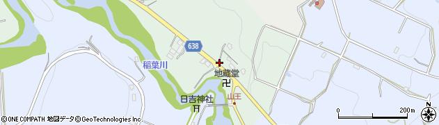 大分県竹田市平田85周辺の地図