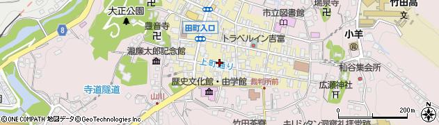 大分県竹田市竹田町52周辺の地図