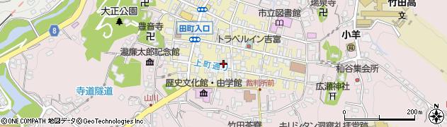 大分県竹田市竹田町57周辺の地図