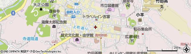 大分県竹田市竹田町64周辺の地図