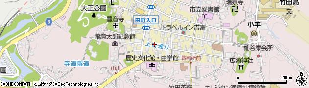 大分県竹田市竹田町46周辺の地図
