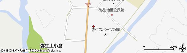 大分県佐伯市弥生大字上小倉1078周辺の地図