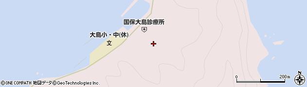 大分県佐伯市鶴見大字大島857周辺の地図