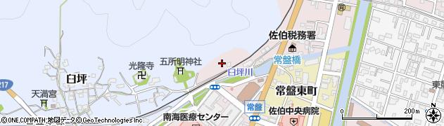 大分県佐伯市蟹田1周辺の地図