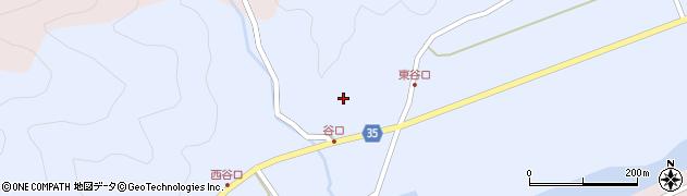 大分県佐伯市弥生大字山梨子790周辺の地図