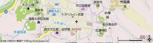 大分県竹田市竹田町112周辺の地図
