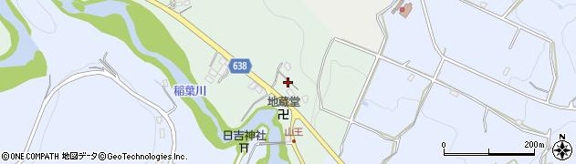 大分県竹田市平田73周辺の地図